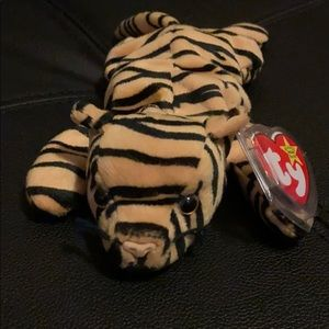 Ty Beanie Baby Original Stripes great condition